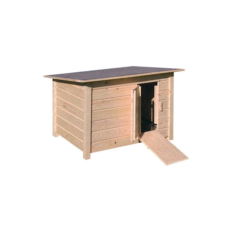 Abri bois palmipedes et volailles ufs aviculture for Abri bois ferme