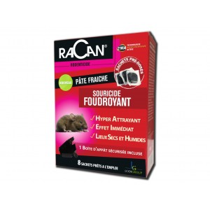 SOURICIDE FOUDROYANT RACAN 80G