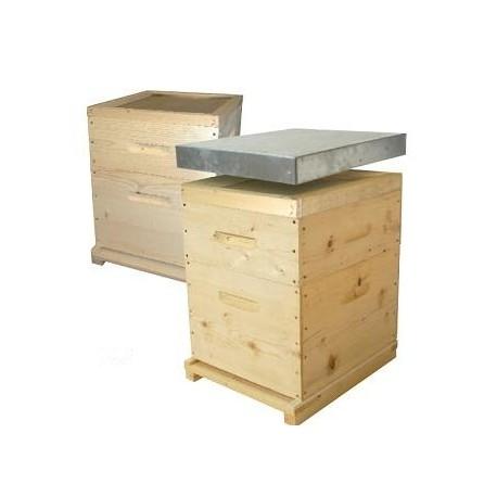 ruche dadant 10 cadres montée
