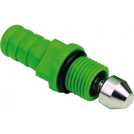 valve inox droite