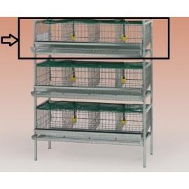 prolongation 1 etage pour cage cailles