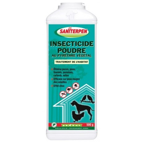 saniterpen insecticide poudre 500 g