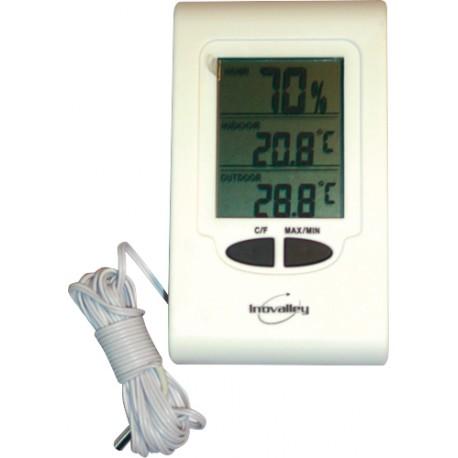 thermo hygrometre a sonde