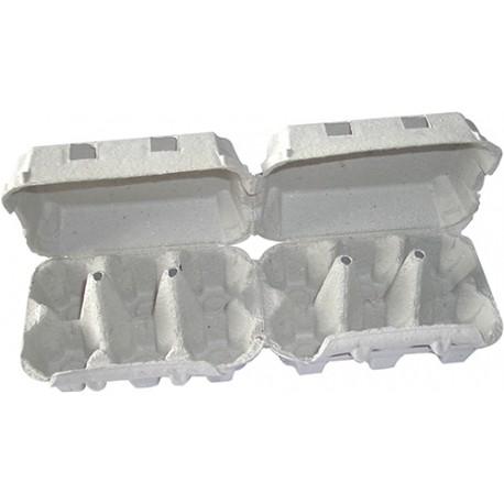 boite 2x6 oeufs cellulose x88