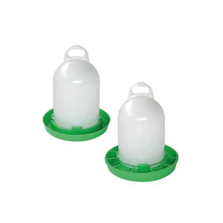 abreuvoir et mangeoire en bioplastique