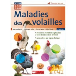 MALADIES DES VOLAILLES 4E EDITION - France AGRICOLE
