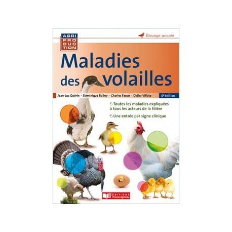 maladie des volailles 3e edition - france agricole