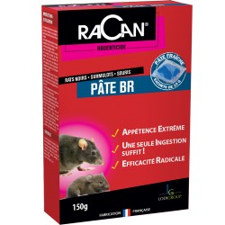 RACAN PATE BR BLEUE 25PPM 150G