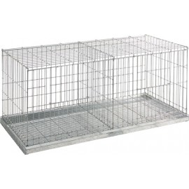 CAGE EXPOSITION 2 CASES 100X42X47 CM